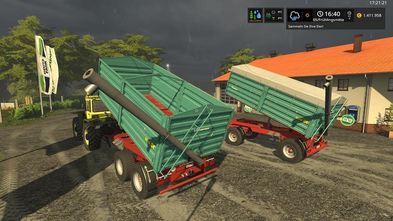 FBM Team] Farmtech Trailer Set DH v1 0